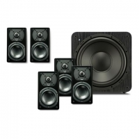 SVS Prime Satellite 5.1 system featuring five Prime Satellites and SB-1000 subwoofer - Black Ash