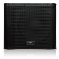 QSC KW SERIES 18IN 1000W POWERED SUBWOOFER