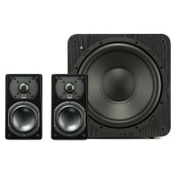 SVS Prime Satellite 2.1 Speaker & Subwoofer System - Black Ash