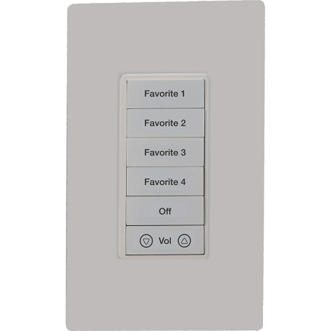 Elan gKP7 In Wall Key Pad