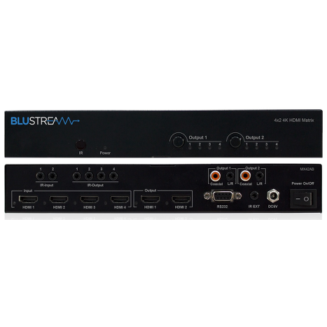 Blustream MX42AB 4K HDMI MATRIX
