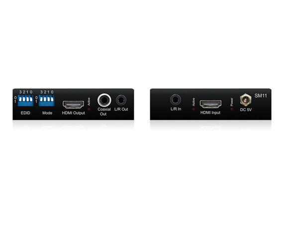 Blustream SM11 Advanced HDMI 2.0 HDCP 2.2 Signal Manager with Audio Embedder / De-Embedder