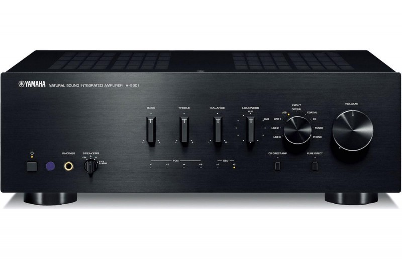 Yamaha A-S801 Integrated Amplifier with DAC